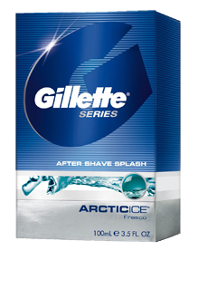 Gillette after shave 100ml Artic Ice