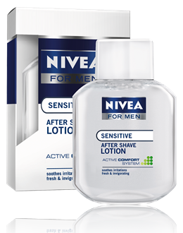 Nivea after shave lotion for men 100ml érzékeny bőrre