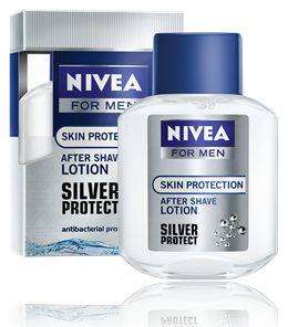 Nivea after shave lotion for men 100ml silver protect