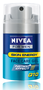Nivea arcápoló gél for men 50ml Q10-zel