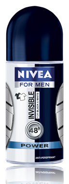 Nivea deo roll-on férfi 50ml invisible for black&white, power