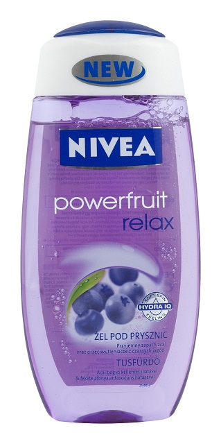 Nivea tusfürdő 250ml powerfruit relax