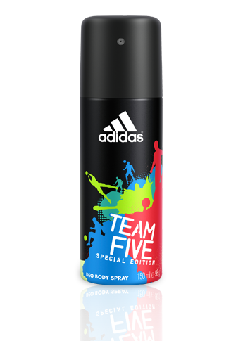 Adidas férfi deo 150ml team five
