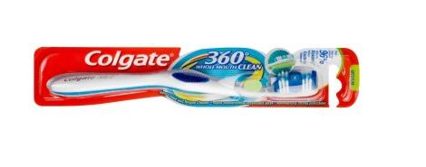 Colgate fogkefe 360° whole mouth clean 1+1 lágy