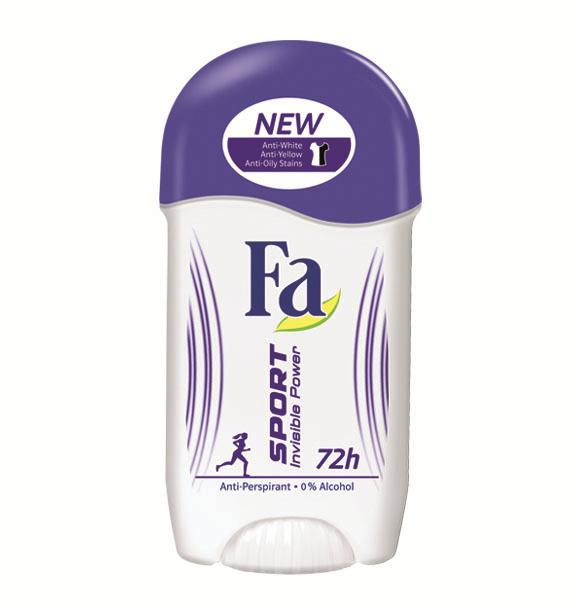 Fa deo stift 50ml Sport Invisible Power