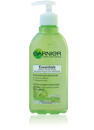 Garnier Skin Naturals Essentials arctisztító gél pumpás 200ml No