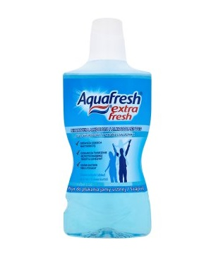Aquafresh szájvíz 500ml extra fresh