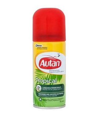 Autan Tropical száraz spray 100ml