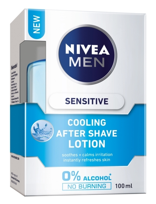 Nivea after shave lotion 100ml Sensitive Cooling