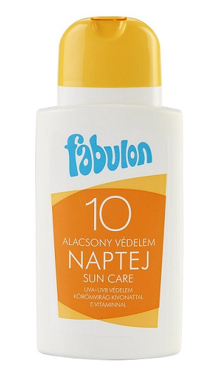Fabulon naptej SPF10 200ml