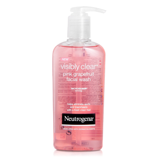 Neutrogena Visibly Clear arclemosó 200ml pink grapefruit