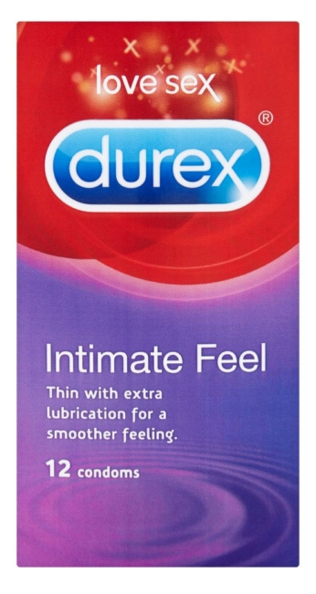 Durex óvszer 12db Feel Intimate