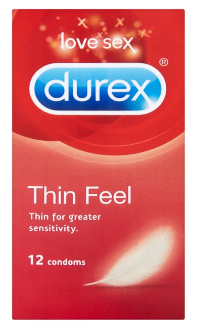 Durex óvszer 12db Feel Thin