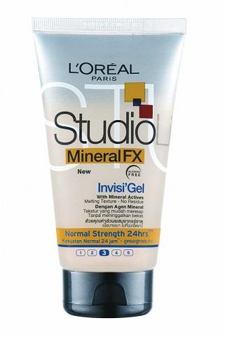 Illatszer webáruház  Studio hajzselé 150ml FX Mineral Invisi 173bd1c489