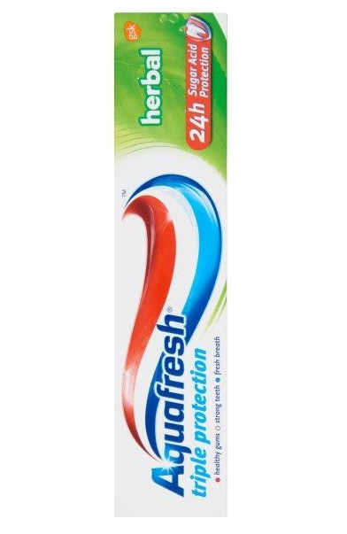Aquafresh fogkrém 100ml Herbal