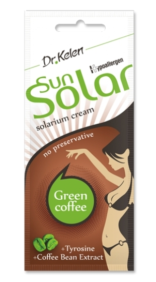 Sunsolar krém 12ml green coffee