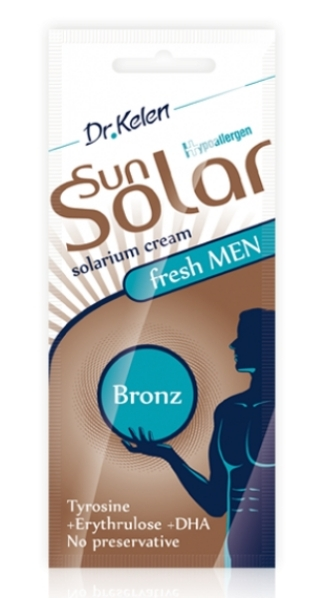 Sunsolar krém 12ml men bronz