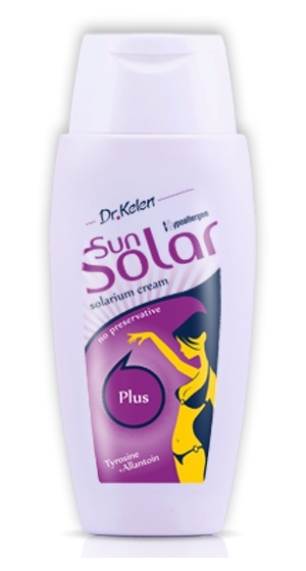 Sunsolar krém 150ml plus