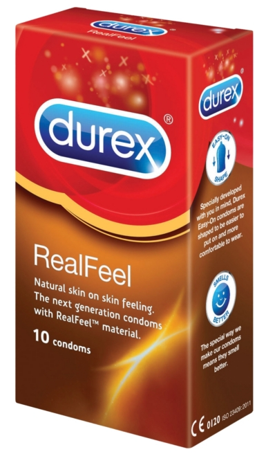 Durex óvszer 10db Real Feel