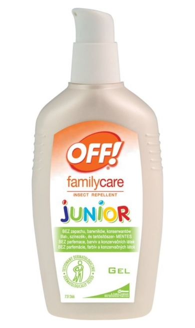 Off! Family Care rovarriasztó gél 100ml junior