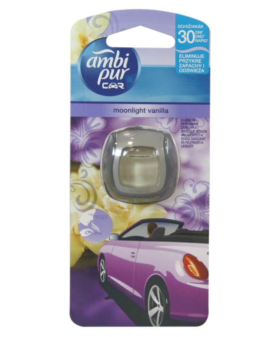 Ambi Pur Car illatosító 2ml Moonlight Vanilla