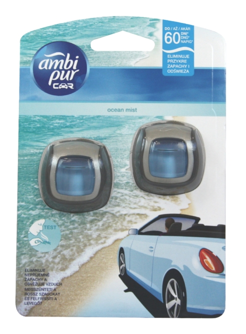 Ambi Pur Car illatosító 2*2ml Ocean Mist DUO