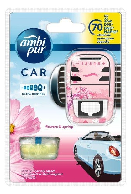 Ambi Pur Car3 illatosító 7ml Flowers