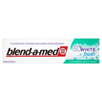 Blend-a-med fogkrém 100ml 3D White Fresh Extra Mint Kiss