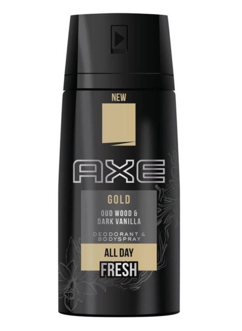 Axe deo 150ml Gold oud wood&dark vanilla