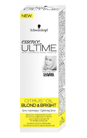 Essence Ultime hajvilágosító spray 100ml Blond&Bright