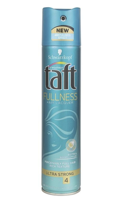 Taft hajlakk 250ml Fullness