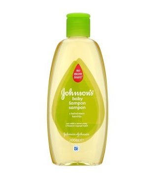 Johnson's Baby kamillás sampon 200ml