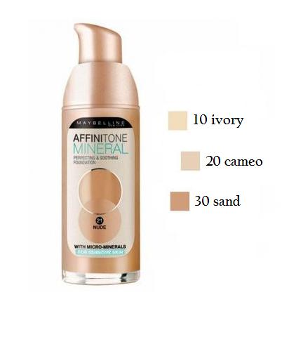 Maybelline Affinitone Mineral 10
