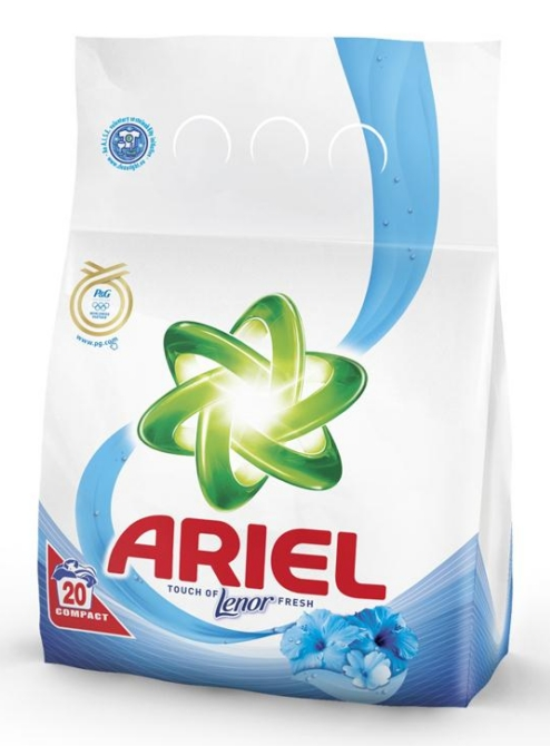 Ariel mosópor 1,5kg Touch of Lenor