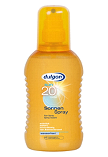 Dulgon naptej spray SPF 20 200ml