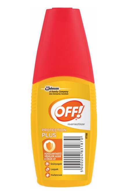 Off! rovarriasztó Protection Plus 100ml pumpás