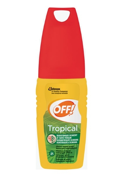 Off! rovarriasztó Tropical 100ml pumpás