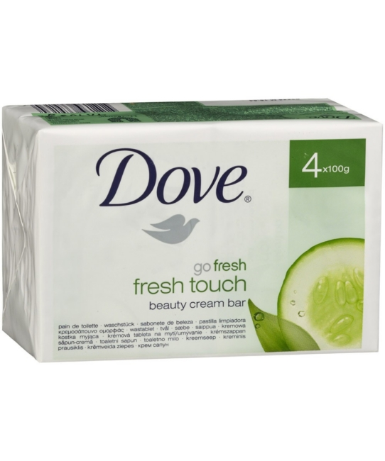 Dove szappan 4*100g go fresh touch