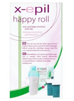 X-Epil Happy roll gyantapatron 50ml hintőporos