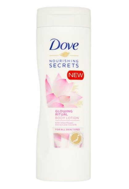 Dove testápoló 400ml Glowing