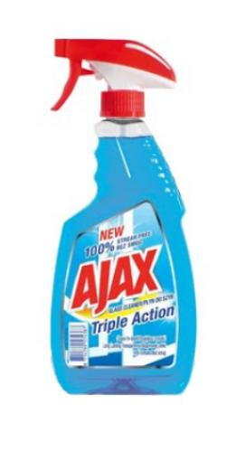 Ajax ablaktisztító 500ml Triple Action