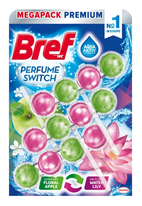Bref Perfume Switch 3*50 g Floral Apple-Water Lily